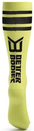 Better Bodies Knee Socks - Lime