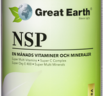 Great Earth NSP Pack Extra Strength 30 port