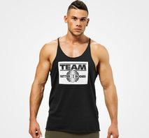 Better Bodies Team BB Raw Cut Tank