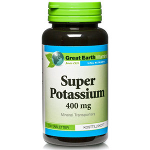 Great Earth Super Potassium 100 tab
