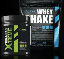 Self Whey Shake 1000g + Xtreme BCAA 250g