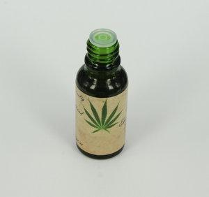 Hampa-olja 10% naturell