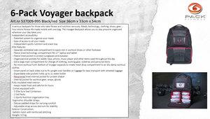 6-Pack Voyager Backpack