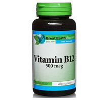 Great Earth Vitamin B12 60 tab