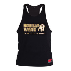 Gorilla Wear Classic Tank Top - Black/Gold