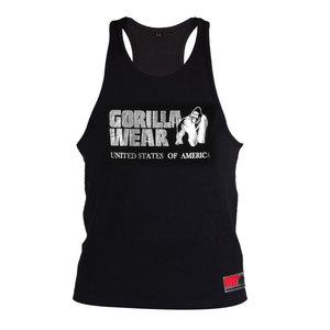 Gorilla Wear Classic Tank Top - Black/Silver
