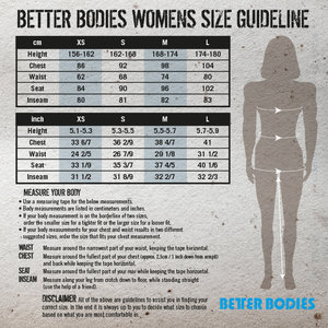 Better Bodies Leisure Raw T-back